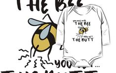 """You've been warned! Funny """"you mess with the bull"""" bee quote. Yellow honey bee. Gifts for bee lovers. Veganism. Animal welfare and animal rights. • Millions of unique designs by independent artists. Find your thing. Bee Quotes, Animal Welfare, Animal Rights, Finding Yourself, Animal Rescue, Soul Searching"""