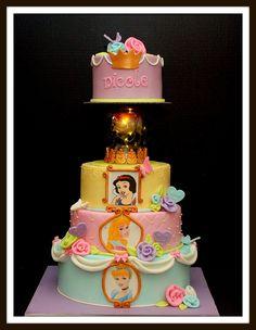 Disney Princess Cake (by Bellina Cakes)