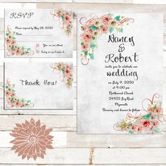 Boho wedding invitationsPrintable wedding by Oldowlpress on Etsy