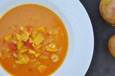 Fersken suppe (den er genial)