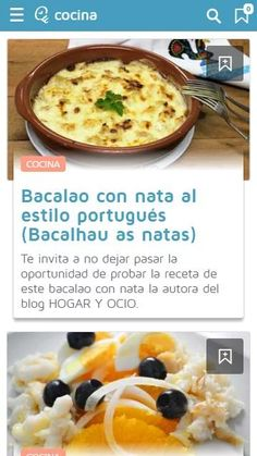 facilisimo: captura de pantalla Cocina Natural, Oatmeal, Breakfast, Sofa, Salads, Cooking Recipes, Meals, Display, The Oatmeal