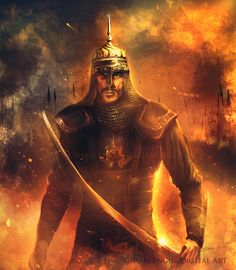 Sultan Alpaslan..Malazgirt 1071.. on Behance