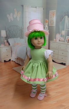 Final installment for custom American Girl Doll by cupcakecutiepie, $161.00