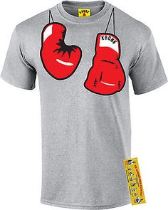 #Kronk boxing gym detroit men's #hanging gloves printed t shirt #sport grey,  View more on the LINK: http://www.zeppy.io/product/gb/2/151641886268/