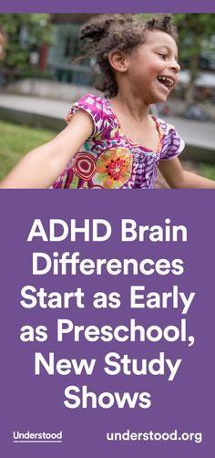 The purpose was to see if the differences in brain structure were evident when ADHD symptoms appeared at an early age.