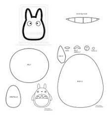 How to Make a Totoro Plushie from felt template tutorial
