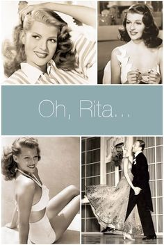 birthday girl, rita hayworth + her fascinating beauty background!