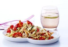 Sund aftensmad på max 30 minutter   Iform.dk Sugar Free Recipes, Japchae, Free Food, Spaghetti, Low Carb, Favorite Recipes, Eat, Ethnic Recipes, Noodle