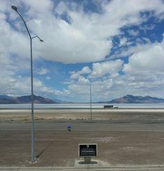 Utah! Bonneville salt flats
