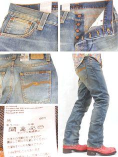 【楽天市場】SALE Nudie Jeans(ヌーディージーンズ)デニムパンツ AVERAGE JOE ORG.CLOUDY VINTAGE 37161-1140 Col.059【送料無料】:MONSTER STORE