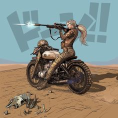Rapid Response light cavalry lancer, michel voogt on ArtStation at https://www.artstation.com/artwork/KdvEG