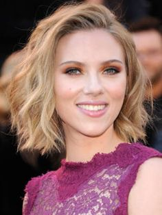The Best Blonde Hair Color in Hollywood: Scarlett Johansson