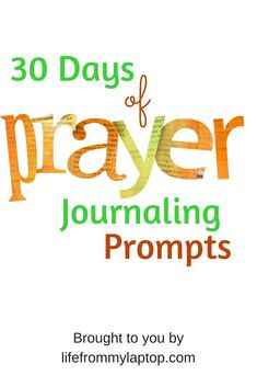 My story of how I began to use a prayer journal from a young age and why you should too!