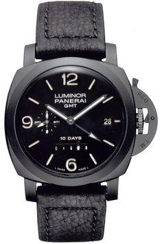 Panerai Luminor 1950 Automatic Certified Men's Watch, Ceramic, Black Dial, PAM00335
