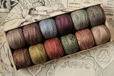 Luccello - HAND DYED PERLE 12 COTTON THREAD