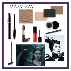 Maleficent Mary Kay Color by taylormarie213 on Polyvore featuring polyvore, beauty and Mary Kay