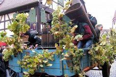 Les fêtes des vendanges et vin nouveau 2012 en Alsace
