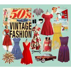 Vintage 50's Fashion