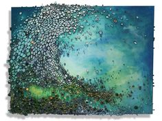 """Amy Genser """"Emerald Crest"""".  Amy made this especially for me, one of a kind! love it!"""