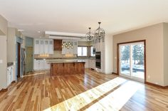Kitchen / Dining Room - Custom Rambler in Rogers, MN by JPC Custom Homes, Inc