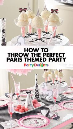 Love Parisian chic? Then this Paris party theme is for you! Read on for all our Paris party ideas including Parisian party decorating ideas, French food ideas and more. Perfect for a French-themed party, birthday or hen do party theme.