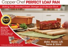 Copper Chef Perfect Loaf Pan
