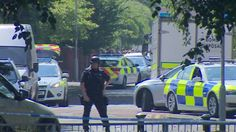 Police say it is too soon to know whether the alert is linked to the Manchester bomb attack.
