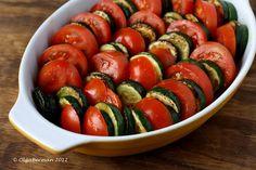 Mango & Tomato: Zucchini, Tomato & Feta Gratin Recipe: Versatile Vegetarian Side