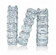chunky diamond bands
