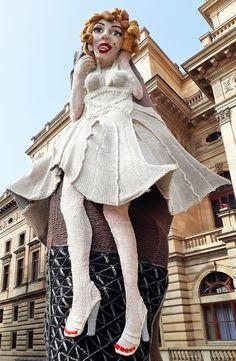 Moderne Kunst in Prag- Marylin Monroe Marylin Monroe, Czech Republic, Prague, Modern Art, City, Kids, Marilyn Monroe