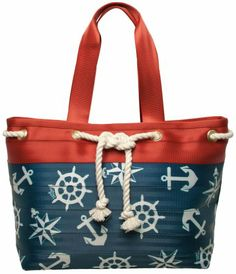 Harveys Seatbelt Bags Knotical Large Tote