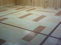 30 patterns for vinyl floor tiles from the 1950s — Retro Renovation
