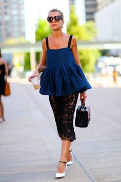 Our 10 Favorite Street Style Looks From NYFW | theglitterguide.com