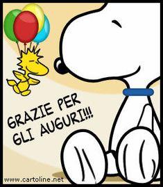 Ringraziare+con+Snoopy