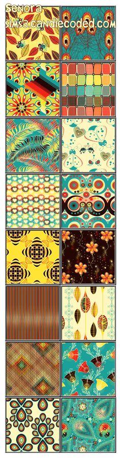 Senora Pattern Set xoxo