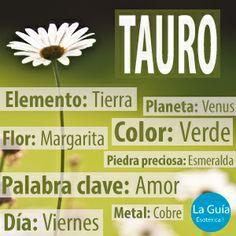 Descubre más sobre Tauro: http://www.laguiaesoterica.com/horoscopos/17-tauro-21-abril-21-mayo.html