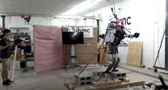 Researchers taught Boston Dynamics Atlas humanoid robot to walk gingerly over rubble Theres something strangely comforting in watching Boston Dynamics 330-pound bipedal humanoid robot cautiously attempt to navigate a field of uneven surfaces. Somethinghumanizing if thats the right world as the faceless bot gingerly tests its footholds slowly and with an abundance of caution before shifting its fullweight to the next block.  The IHMC (Institute for Human and Machine Cognition) Robotics Lab…