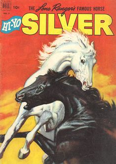 """""""Silver"""" comic my mom gave me from her old collection from when she was a kid (Sam Savitt illustration)"""