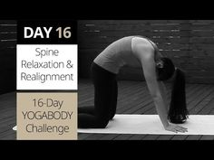 Yoga for Spine Relaxation & Alignment [Day 16 of Back Flexibility, True Beauty, Health And Wellness, Hold On, Relax, Challenges, Exercise, Yoga, Workout