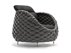 Upholstered armchair Rapunzel Collection by KENNETH COBONPUE | design Kenneth Cobonpue