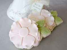 Flower Cookie Favors - The Pastry Studio