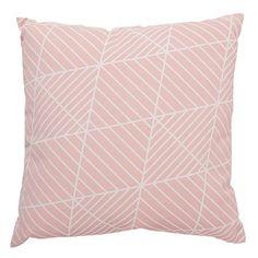 Living & Co Cushion Dakota Blush 43cm x 43cm