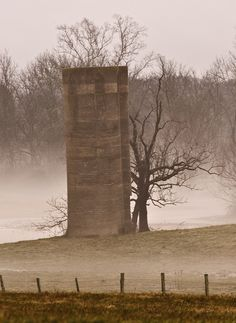 - Old Silo - Photo by Jeffery White, via Flickr - Location Unknown -