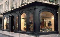 Boutique (1900) 94, rue du Bac Paris 75007. Architecte inconnu.