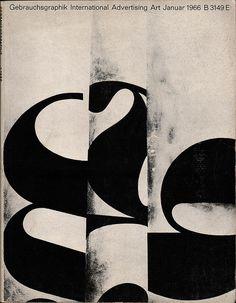 Gebrauchsgraphik No. 1 1966 | Flickr - Photo Sharing!
