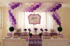 A festa com tema da Violetta é um sucesso! Confira tudo em Festa de Menina no site www.tudodebem.com.br #festavioletta #festademenina #mesadedoces