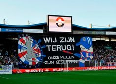 We are back! (Willem II Tilburg)