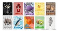 Colour Flash Cards ~ Te Reo Maori or English ~ set of 10