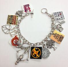 Hunger Games Charm Bracelet G by KarinaMadeThis on Etsy, $17.00