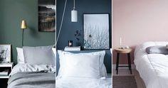 Färgerna i sovrummet som ger bättre sömn Wall Paint Colors, Bedroom Paint Colors, Elle Decor, Sweet Home, Colours, Furniture, Design, Stress, Decoration